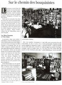 Vivre en Val d'oise 1997 : Sur le chemin des bouquinistes