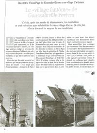 Vivre en Val d'Oise, 2005 (Patrimoine : Vieux-Pays)